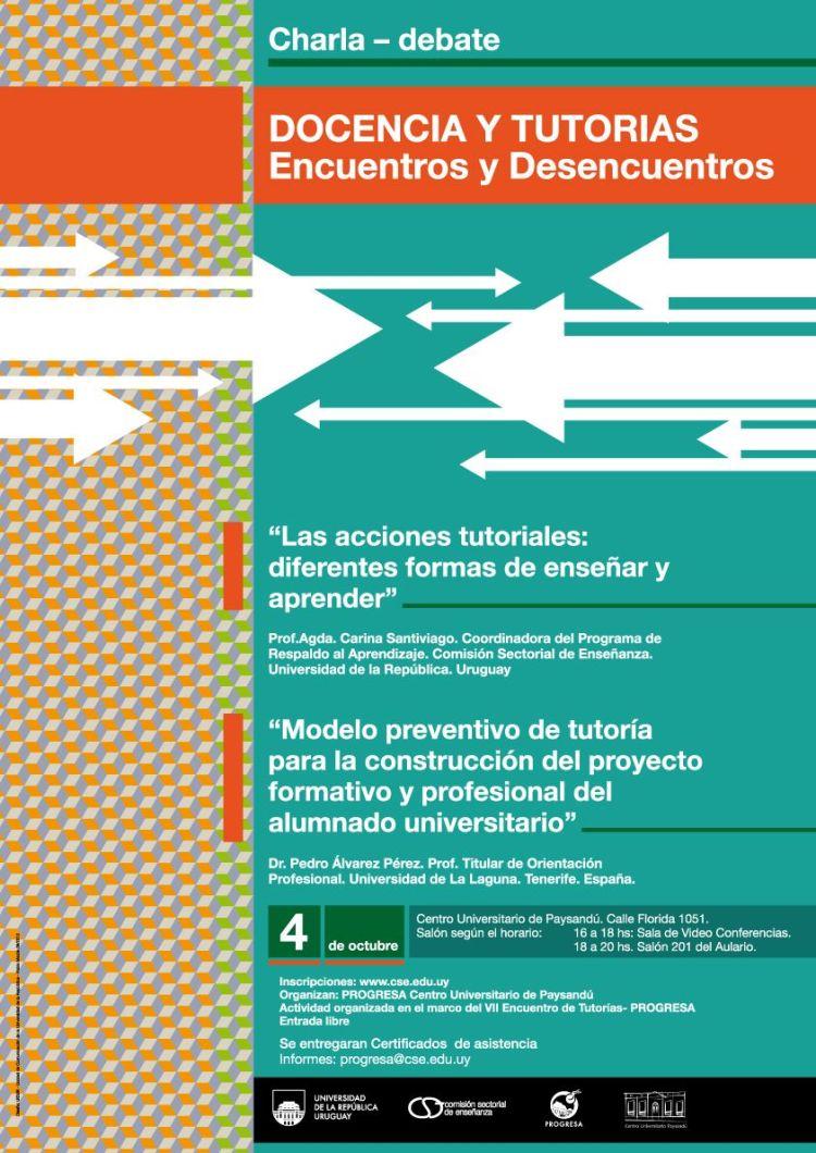Charla Debate Pay VII Encuentro Tutorias